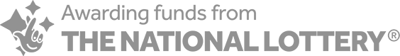 Awarding funds from the National Lottery logo